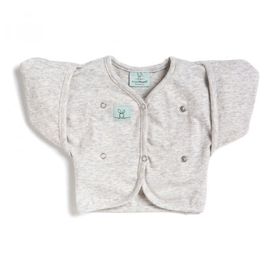 ErgoPouch 0.2 Tog Butterfly Cardi 2-6 Months Grey Marle