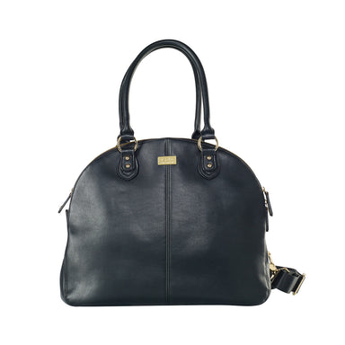 ISOKI Madame Polly Nappy Bag Toorak Black