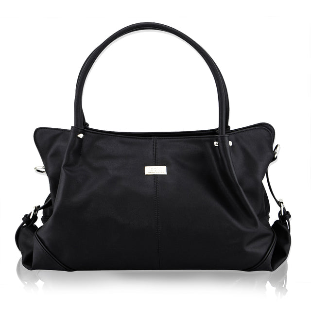 ISOKI Anakie Satchel Nappy Bag Onyx