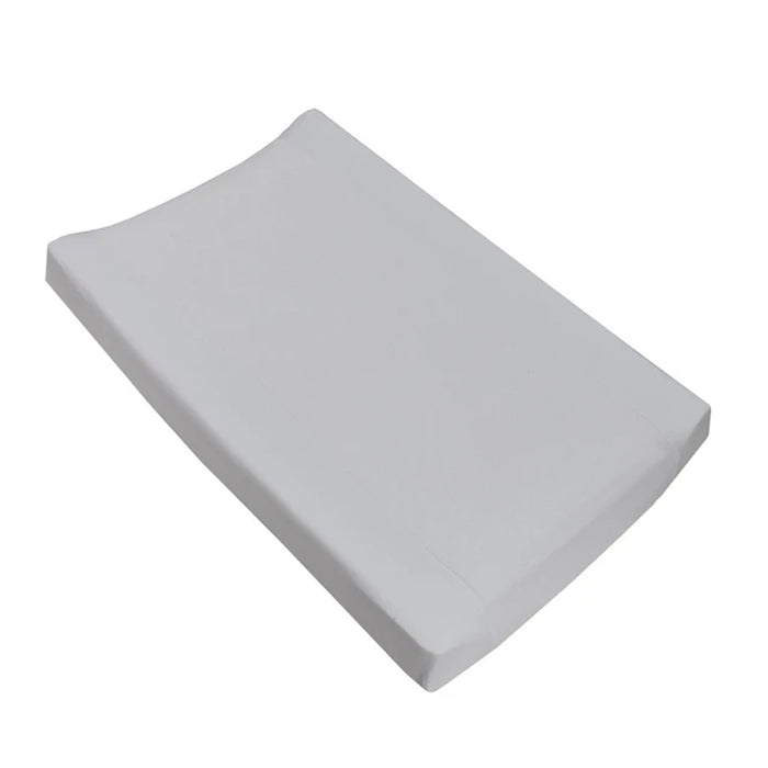 Living Textiles Jersey Change Mat Cover White