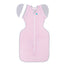 Love To Dream Swaddle Up Transition Bag 0.2 TOG Lite Medium 6-8.5kg Pink