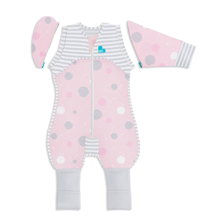 Love To Dream Transition Suit 0.2 TOG Lite Large 8.5-11kg Pink