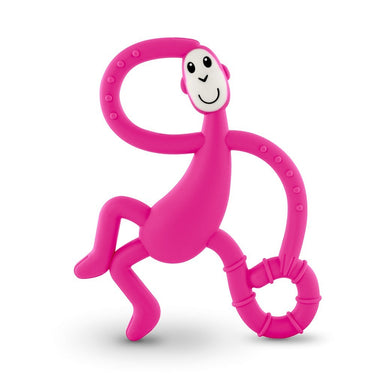 Matchstick Dancing Monkey Teether Pink
