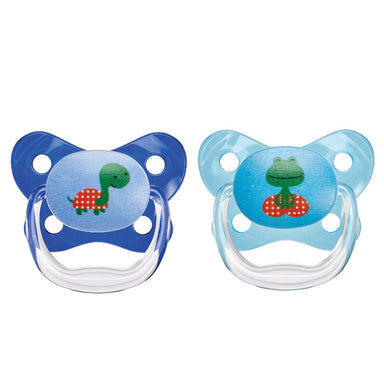 Dr.Browns Prevent Contoured Pacifier 12 Months+ Blue 2 Pack