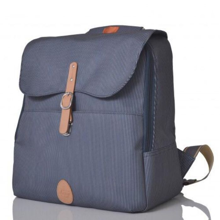 Pacapod Hastings Nappy Bag Navy Stripe