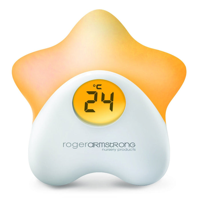 Roger Armstrong Star Night Light and Thermometer