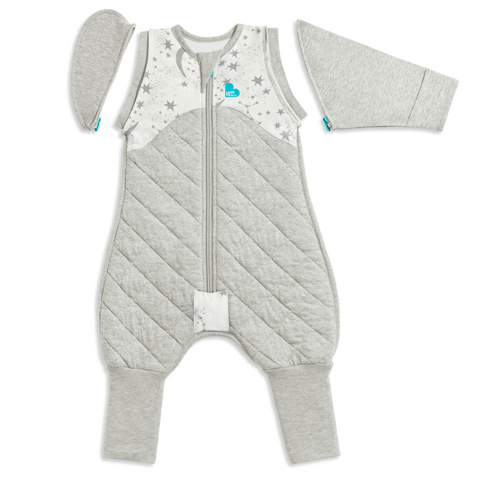 Love To Dream Swaddle Up Transition Suit 2.5 TOG Medium White
