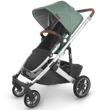 UPPAbaby Cruz V2 Pram & Bassinet Package Green Melange (Emmet)
