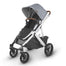 UPPAbaby VISTA V2 Pram TWIN Package Blue Melange (Gregory) + FREE Ganoosh (Gregory) & Upper & Lower Adapter - PRE ORDER END JAN
