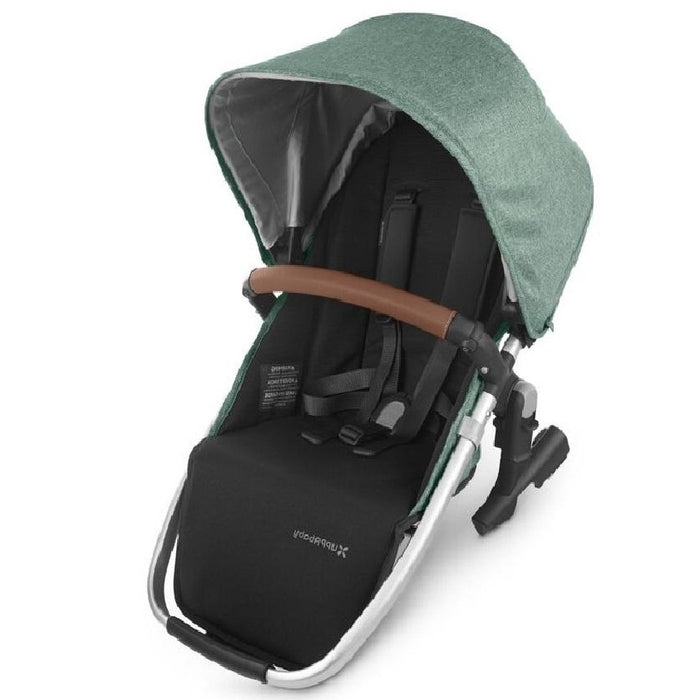 UPPAbaby VISTA V2 With Bassinet & Rumble Seat + FREE Ganoosh & Upper Adapter Green Melange (Emmett)