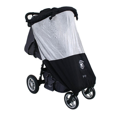 Veebee Single Stroller Sunstopper Silver Mesh