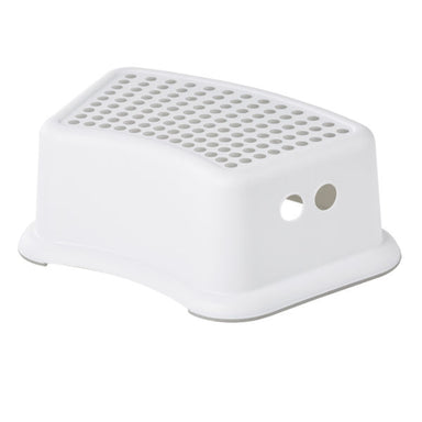 Big Softies Plastic Step Stool White