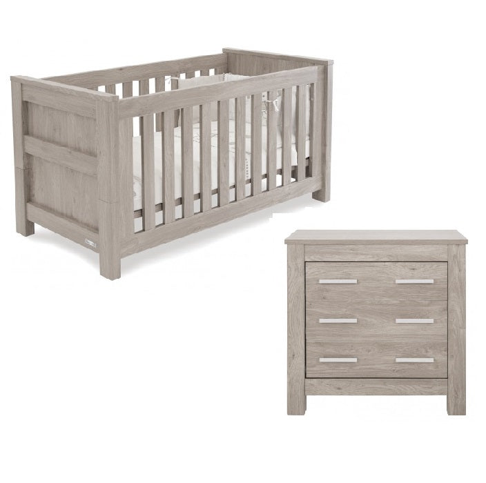Love N Care Bordeaux Cot and Chest Package