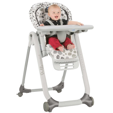Chicco Polly Progress 5 High Chair Anthracite