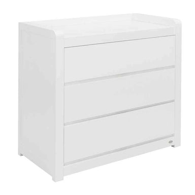 Cocoon Flair Dresser with Change Area White