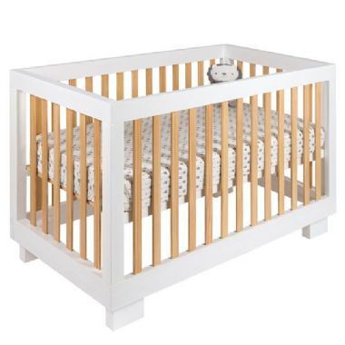 Cocoon Luxe Cot White/Natural