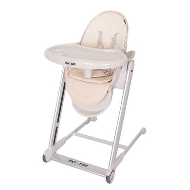 Love N Care Pandora Highchair Silver Frame Latte