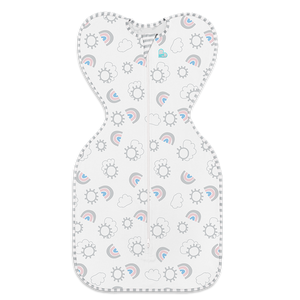 Love to Dream Swaddle Up 1.0 Tog Original Medium Rainbow