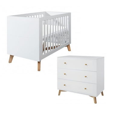 Love N Care Fjord Cot and Chest Package