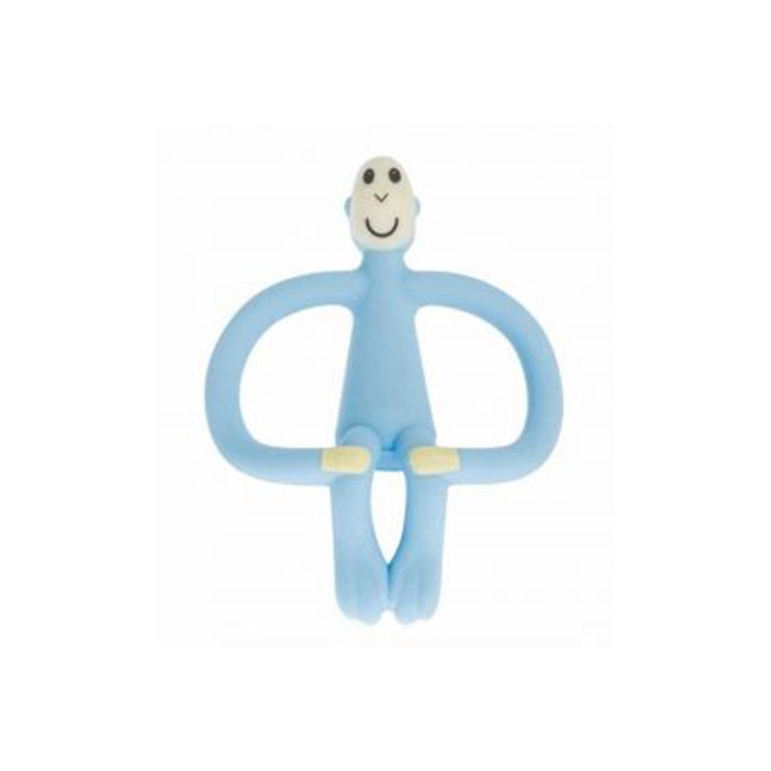 MatchStick Monkey Teething Toy And Gel Applicator Baby Blue