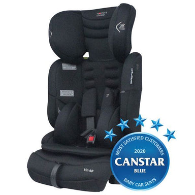 Mothers Choice Kin AP Convertible Booster Seat Black Space
