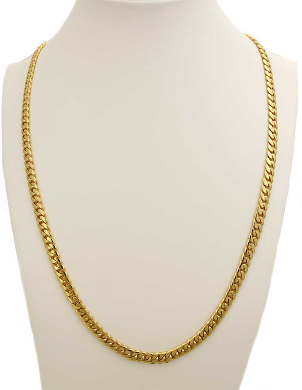 6 MM CUBAN LINK CHAIN (14k Gold)