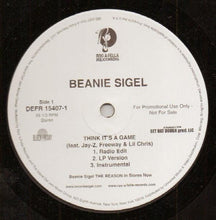 Load image into Gallery viewer, Beanie Sigel ‎– Think It's A Game
