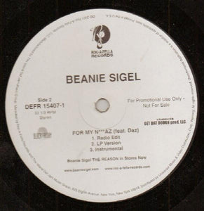 Beanie Sigel ‎– Think It's A Game
