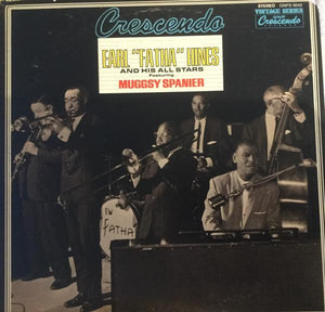 "Earl ""Fatha"" Hines And His All-Stars ‎– Gene Norman Presents Gene Norman Presents Earl ""Fatha"" Hines And His All Stars Featuring Muggsy Spanier"