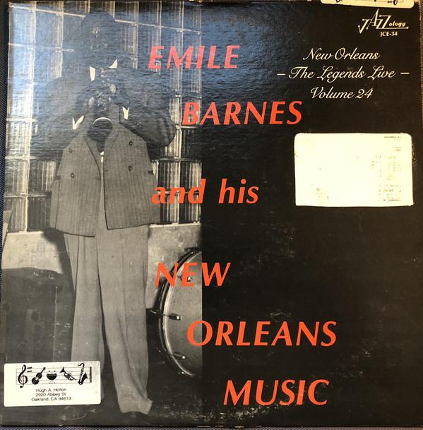 Emile Barnes ‎– Emile Barnes And His New Orleans Music