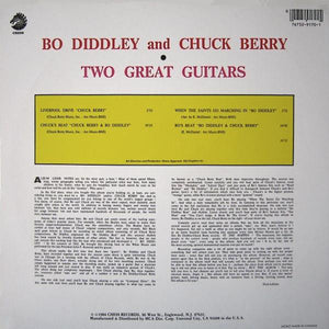 Bo Diddley / Chuck Berry ‎– Two Great Guitars