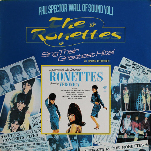 The Ronettes ‎– The Ronettes Sing Their Greatest Hits