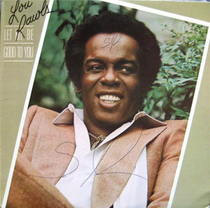 Lou Rawls ‎– Let Me Be Good To You