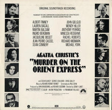 Load image into Gallery viewer, Richard Rodney Bennett ‎– Agatha Christie's Murder On The Orient Express (Original Soundtrack Recording)