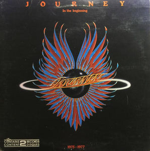 Journey ‎– In The Beginning - 1975-1977 (2 discs)
