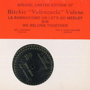 Ritchie Valens ‎– La Bamba/Come On Let's Go Medley / We Belong Together