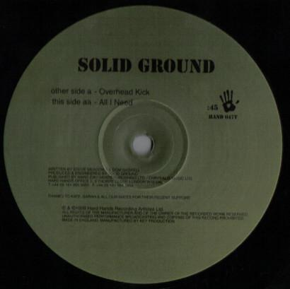Solid Ground ‎– Overhead Kick / All I Need