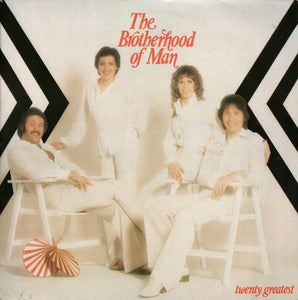 Brotherhood Of Man ‎– Twenty Greatest
