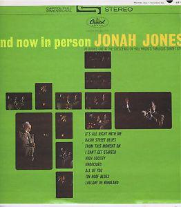 Jonah Jones ‎– And Now In Person Jonah Jones