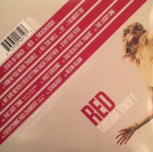 Taylor Swift ‎– Red (NEW PRESSING) 2 discs