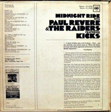 Load image into Gallery viewer, Paul Revere & The Raiders ‎– Midnight Ride