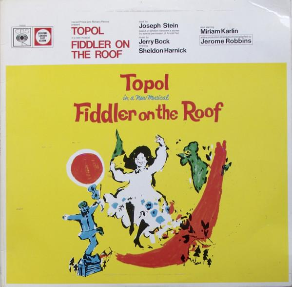 Topol ‎– Fiddler On The Roof