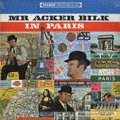 Mr. Acker Bilk With The Leon Young String Chorale ‎– In Paris