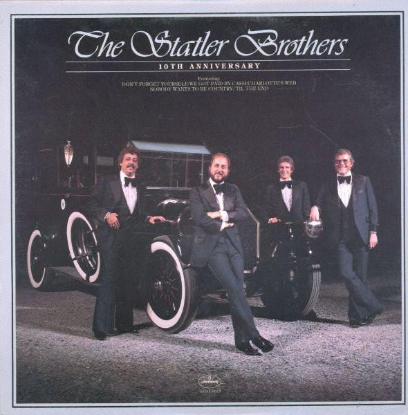 The Statler Brothers ‎– 10th Anniversary