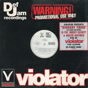 Violator  Feat Q-Tip ‎– Vivrant Thing (Remixes)