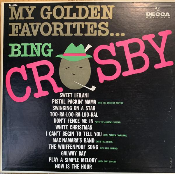 Bing Crosby ‎– My Golden Favorites