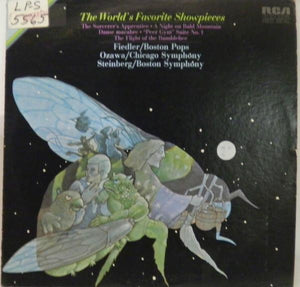 Fiedler* / Ozawa* / Steinberg* / Boston Pops* / Chicago Symphony* / Boston Symphony* ‎– The World's Favorite Showpieces