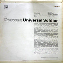 Load image into Gallery viewer, Donovan ‎– Universal Soldier
