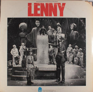 The Original Broadway Cast* ‎– Lenny