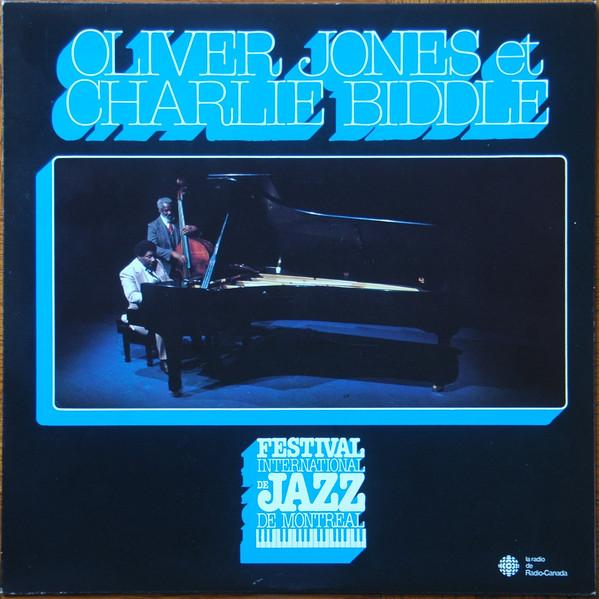 Oliver Jones , Charlie Biddle ‎– Oliver Jones et Charlie Biddle